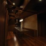 西条スタイリッシュ平屋トーヨーキッチン、吹き抜け天井