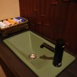 新居浜「モダン和風住宅の造作手洗い