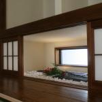 西条和モダン飾り窓、床の間