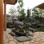 西条純和風新築 庭
