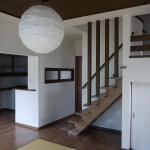 新居浜モダン和風新築 LDK、さらさ階段、畳コーナー