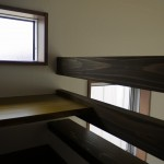 新居浜モダン和風新築 中二階、カウンター
