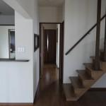 新居浜モダン和風新築 さらさ階段、廊下