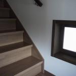 新居浜モダン和風新築 階段