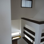 新居浜モダン和風新築 階段、中二階