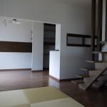 新居浜モダン和風新築 LDK,さらさ階段,畳コーナー