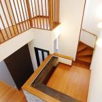 新居浜新築 中二階、カウンター