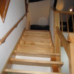 西条古民家リフォーム さささ階段
