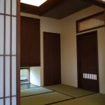 西条モダン和風 和室、障子、地窓