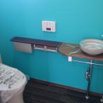 西条モダン和風新築 トイレ、手洗い