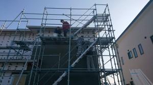 西条市玉津新築建売住宅 和モダン 外断熱 外壁塗り仕上げ